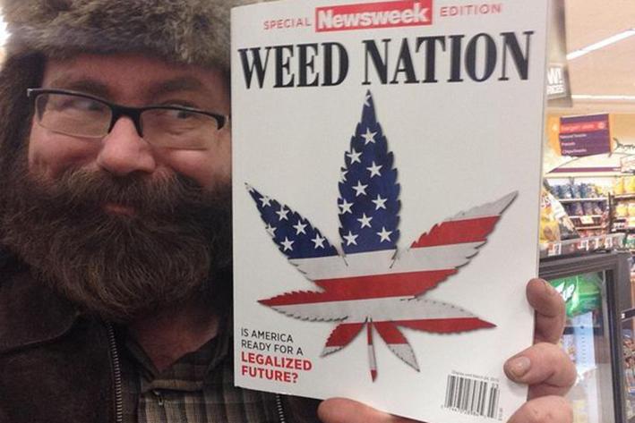 Invade olor a mariguana a jardines de la Casa Blanca