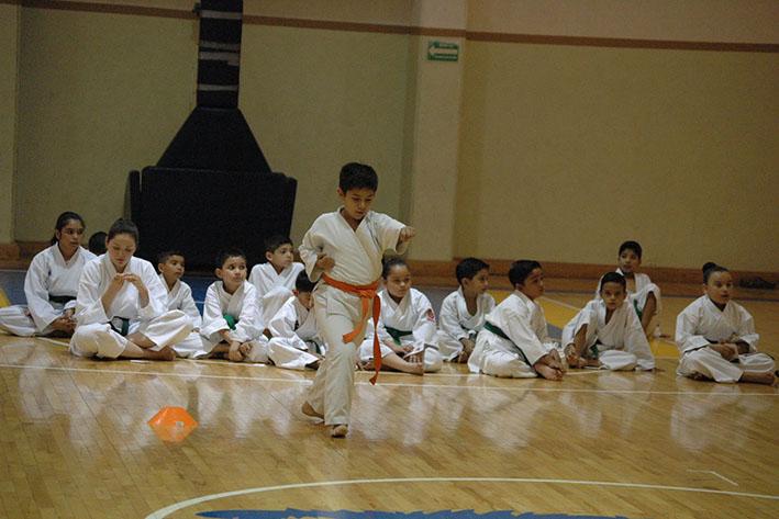 Efectúan Exámenes de Karate