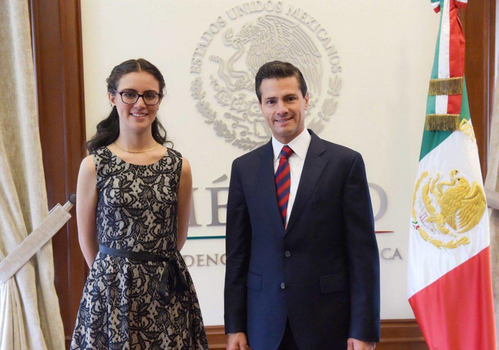 Eres un orgullo y una gran promesa para México: EPN