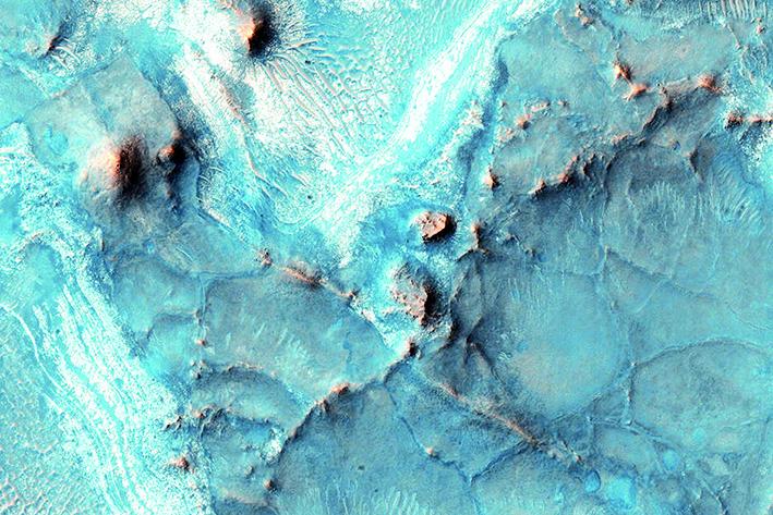Marte no es totalmente rojo