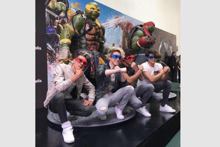 "Los CD9 se convierten en ""Tortugas Ninja"""