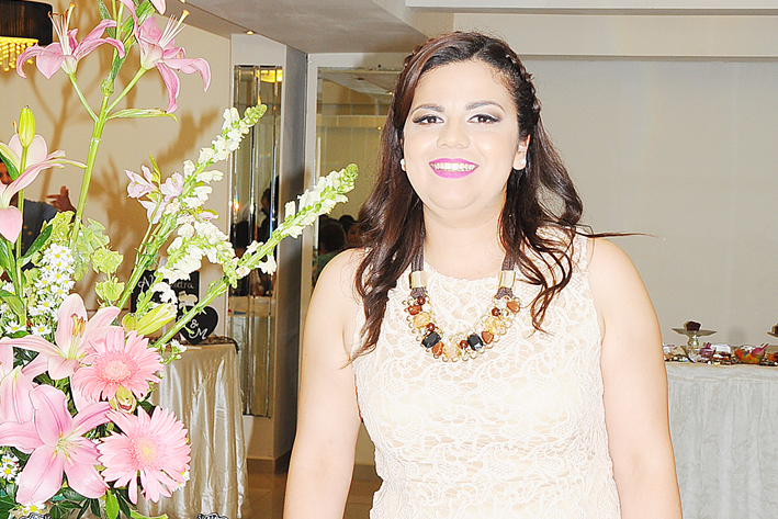 Karina Martínez, Festejo Prenupcial