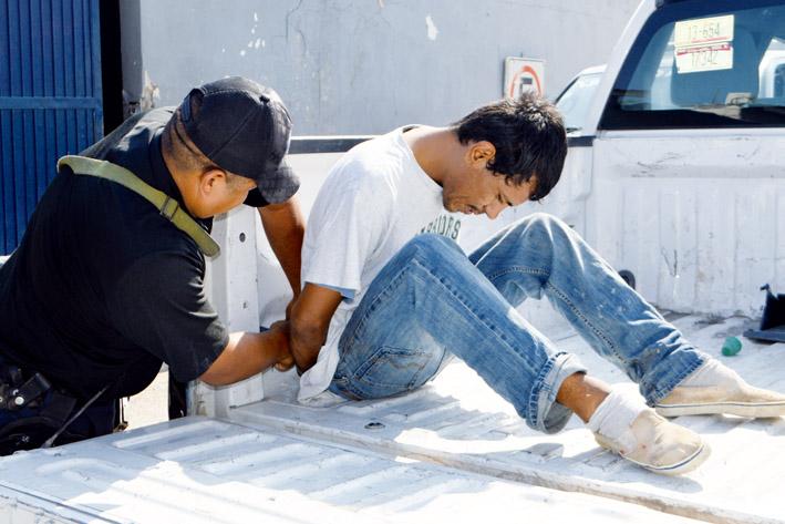 """Captura Policía a """"Sorullo"""" Rojas"""