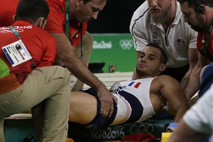 Río 2016: la impactante fractura de un atleta francés en plena competencia