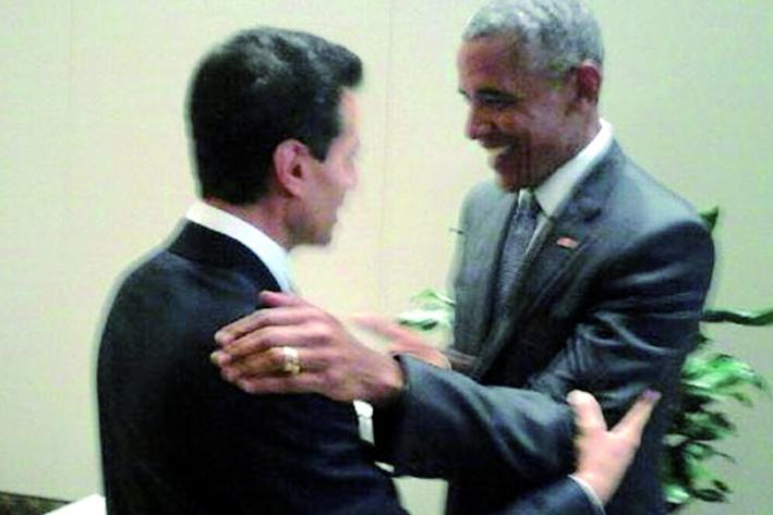 Peña Nieto tiene encuentro con Obama
