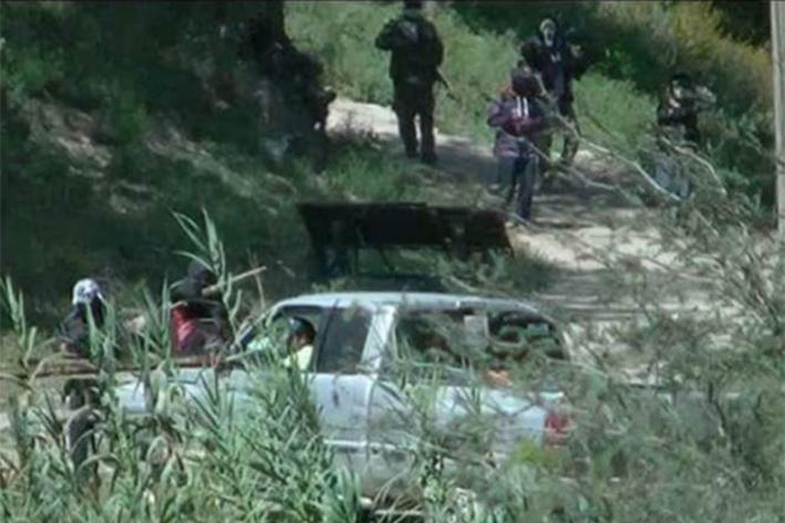 Grupo armado toma  localidad de Hidalgo