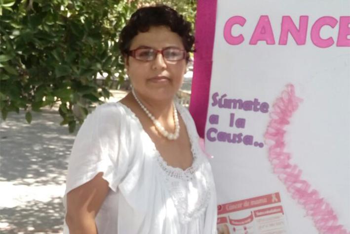 Realiza el DIF campaña  contra cáncer de mama