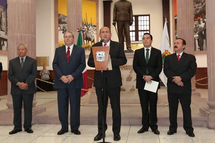 Entrega Gobernador V Informe de resultados a LX Legislatura