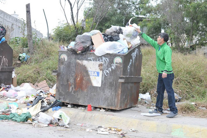 Reconocen saturación de basura al Sur de la Ciudad