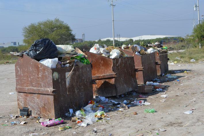 Se agudiza falla en recolección de basura
