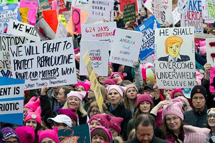 Marchan mujeres en todo el mundo