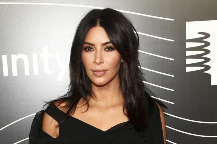 Kim Kardashian tiene psoriasis en el rostro