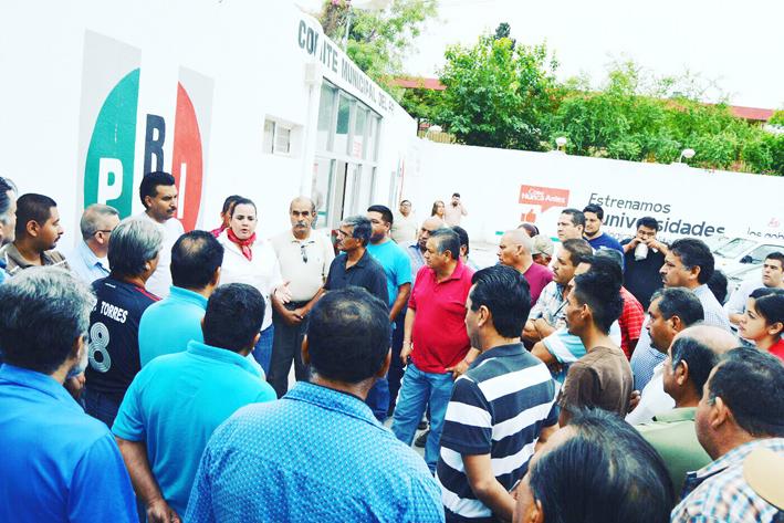 'Confiamos en Lupita Oyervides'