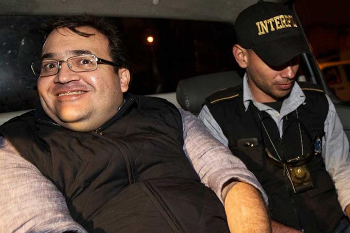 La risa de Javier Duarte que viraliza las redes
