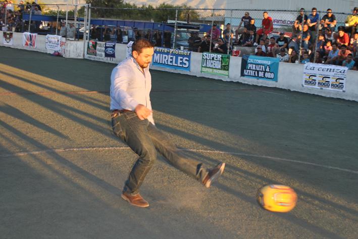 Inauguran Liga Profesional de Fútbol Rápido