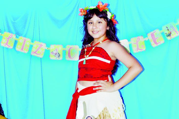 Elizabeth Avila Moana's party