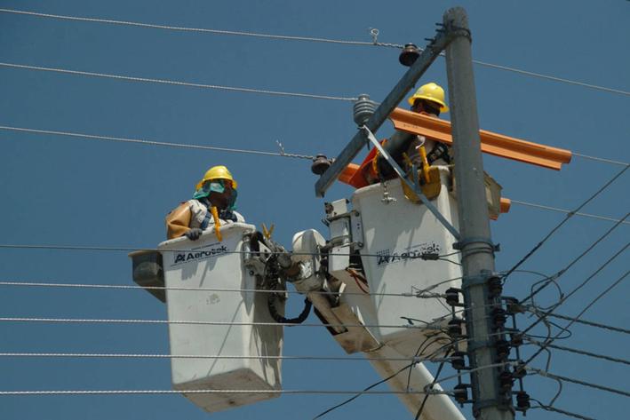 Nevada afectó circuitos de CFE