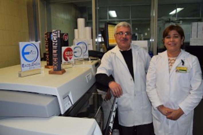 Destaca IMSS por excelencia en sus laboratorios