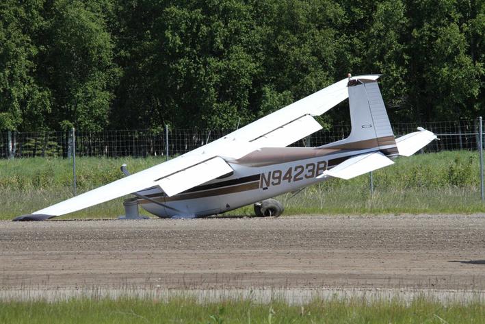 Chocan aviones en pleno vuelo en Alaska