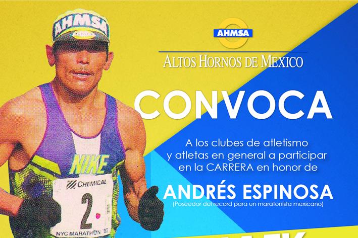 Homenaje a Andrés Espinoza