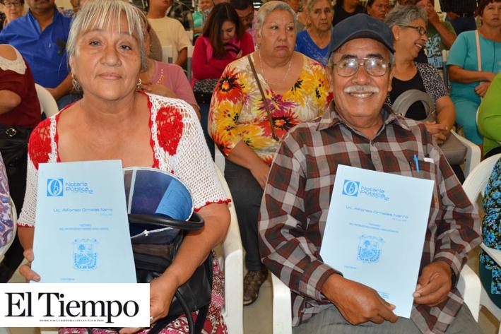 Reciben familias 112 testamentos