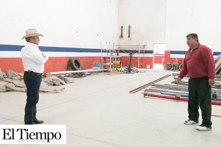 Remodelan Gimnasio Municipal 'Rodolfo Luna Torres'