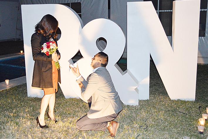 Natalia Luna y Roberto Medellín Pedida de matrimonio