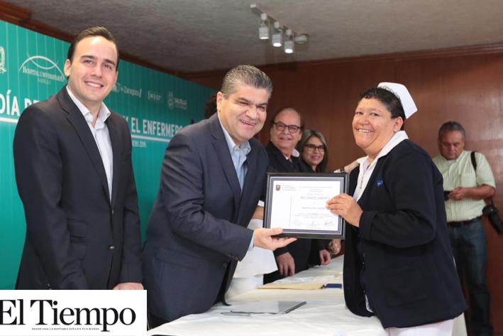 En Coahuila se reconoce labor de enfermeras