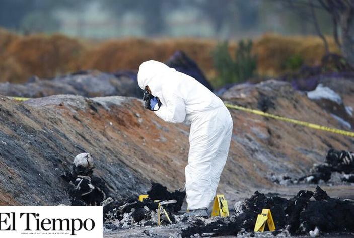 Explosión en ducto pudo ser causado por alto octanaje y ropa sintética de las personas