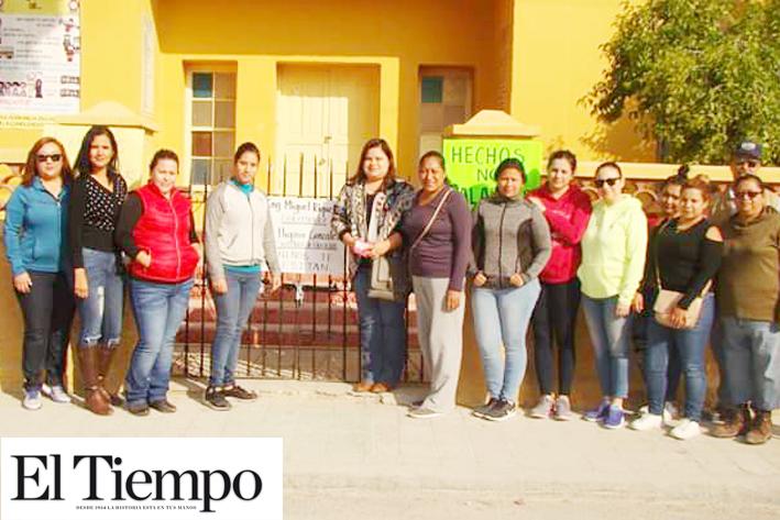 Gestionaría Yolanda Cantú terminar rehabilitación de Escuela V. Carranza