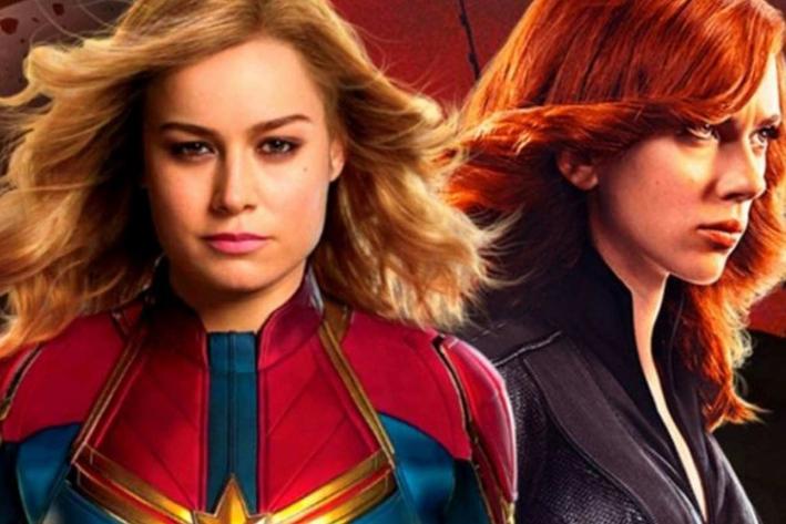 Esta es la posible conexión entre Capitana Marvel y Black Widow