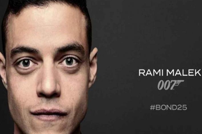 Rami Malek será el villano en nueva película del Agente 007