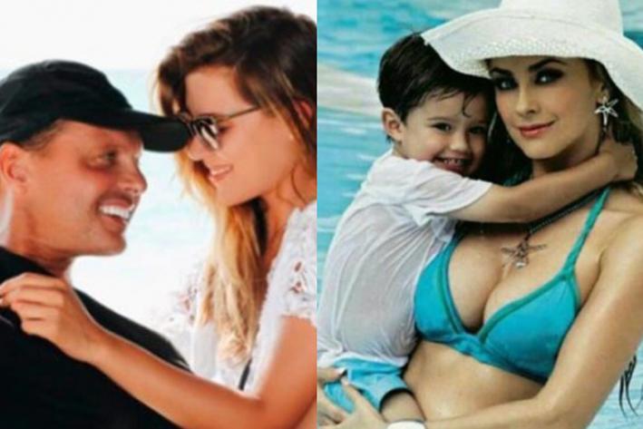 ¡Adorables!... Michelle aparece junto a los hijos de Luis Miguel