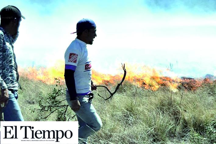 Incendio en Galeana, Nuevo León, moviliza autoridades