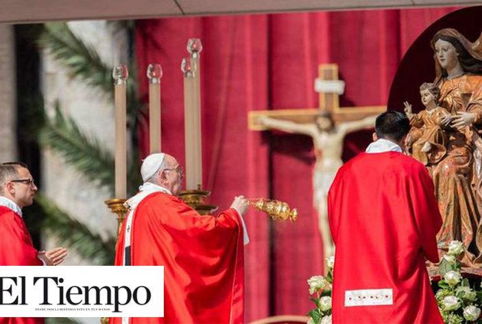 """""""La cruz, camino de obediencia, no se puede negociar"""": Papa Francisco en el Domingo de Ramos"""