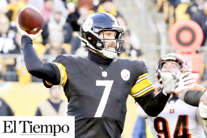 Steelers extiende contrato a Roethlisberger