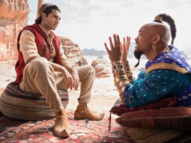 'Aladdin' ocupa el primer puesto en las taquillas