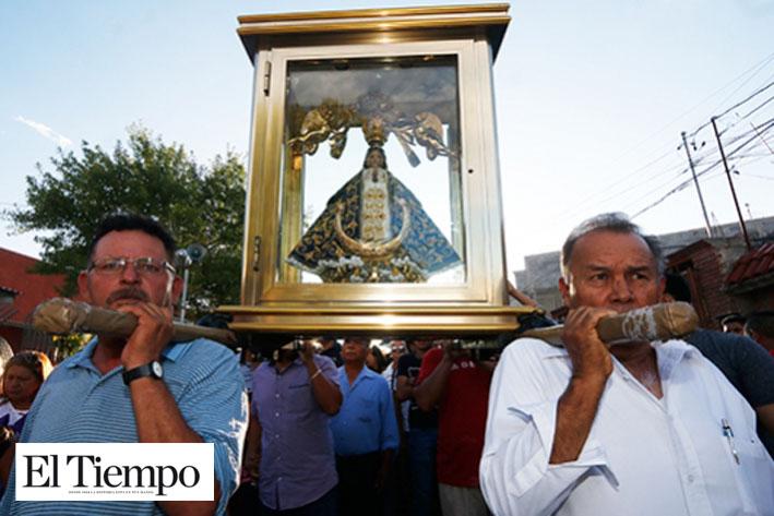 Llegará este viernes Virgen de San Juan