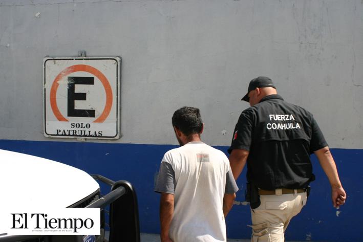 Lo sorprende Fuerza Coahuila