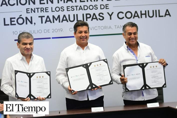Coahuila firma convenio de seguridad