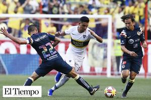 Boca Junior derrota al América