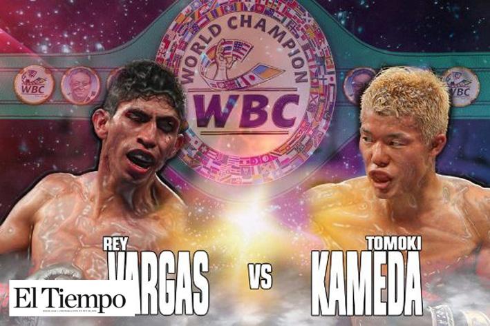 Rey Vargas expone título supergallo
