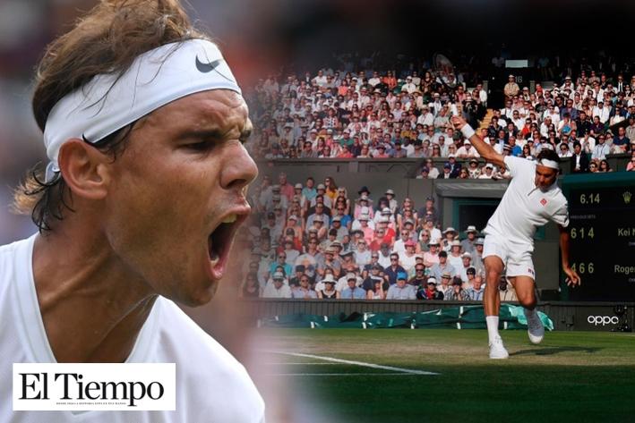 Nadal y Federer enfrentan la semifinal