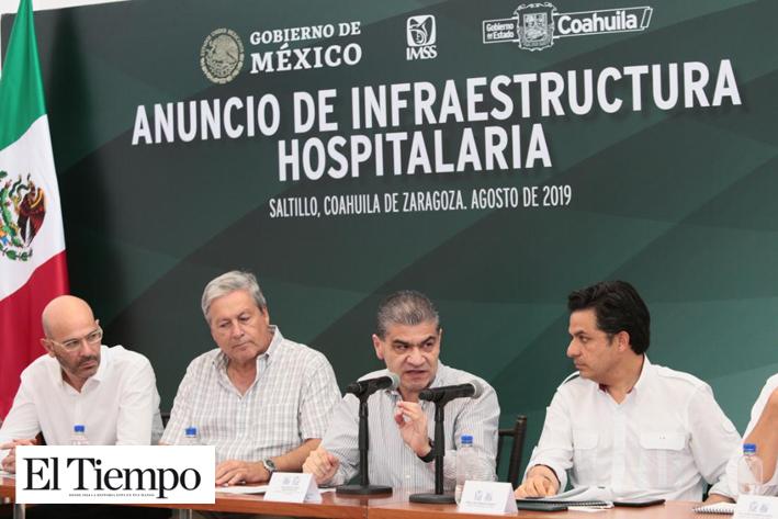 Anuncian 8,360 mdp para infraestructura hospitalaria