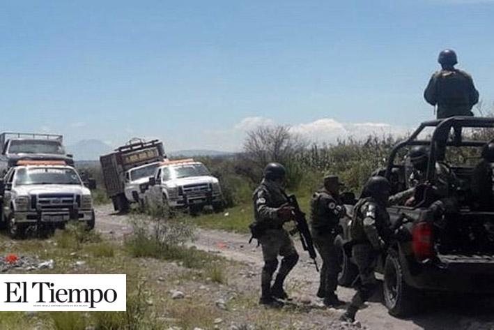 Robatrenes desarman y agreden a elementos de la Guardia Nacional, en Tlaxcala