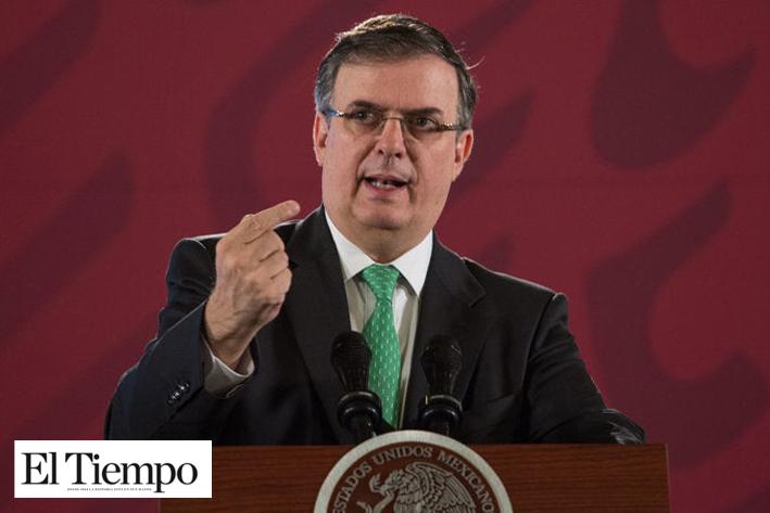 México pide a Estados Unidos congelar trafico de armas: Marcelo Ebrard