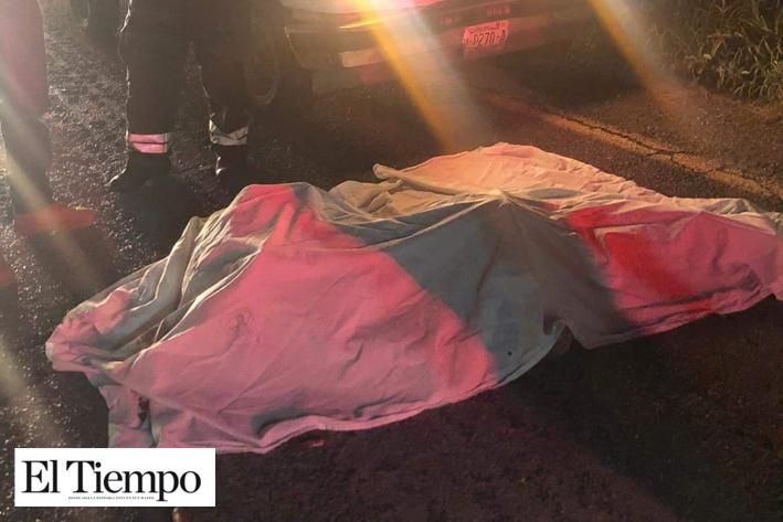Muere arrollado en Carretera 30