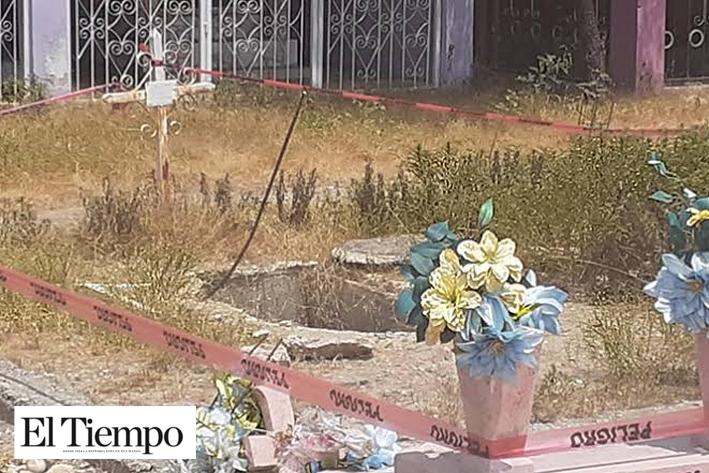 En peligro 40 tumbas en 'Panteón Dolores'