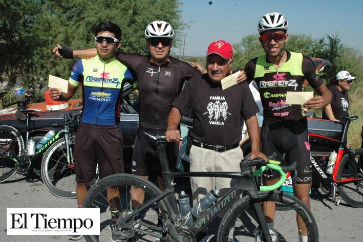 Enrique García gana en ciclismo
