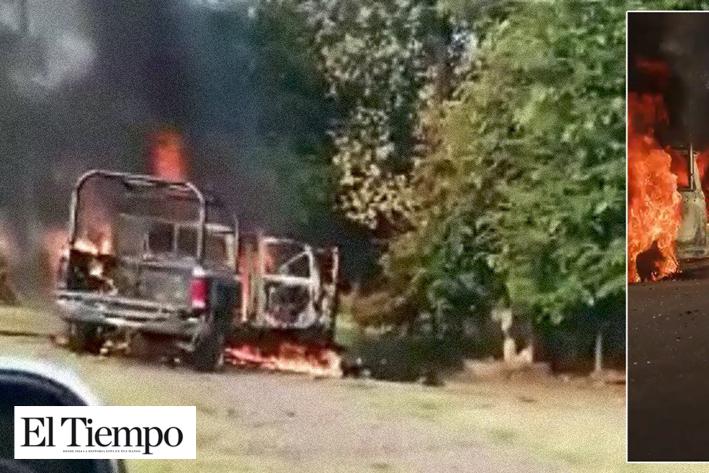 Matan a 14 policías en Aguililla, Michoacán